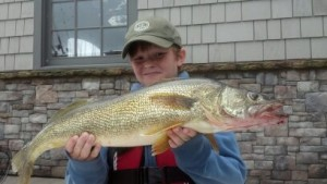 Lake Burton Walleye Fishing