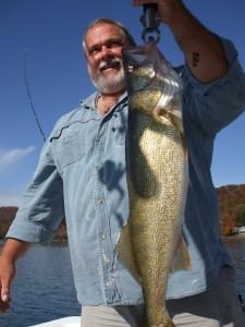 Lake Burton/ Lanier Walleye 8lbs